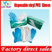 Wholesale Disposable Clear Powder Free Vinyl Gloves with 4.5g M Size from china suppliers