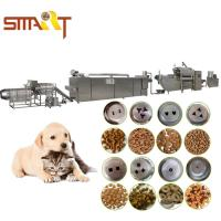 Wholesale Dry Pet Food Production Line Shows How To Make Dog Food Automatically from china suppliers