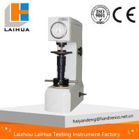 Wholesale HR-150A Rockwell hardness tester -manual hardness tester,high quality harness testing mahcine from china suppliers