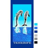 Wholesale Velour Reactive Printed Beach Towel from china suppliers
