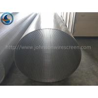 Wholesale Automatic Back Wash Drum Screen , OD 600 MM Wire Wrap Screen Mesh from china suppliers