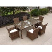 wicker yard garden pool patio furniture pe rattan resin dining set