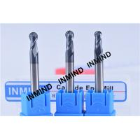 Buy cheap R1.75 ,  AlTiN , HRC50 ,Spherical Ball end mill  R1.75  Dia 3.5mm ,Black Coating from Wholesalers