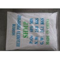 Wholesale Technical Grade Detergent Powder Raw Material Sodium Hexametaphosphate from china suppliers