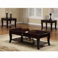 Wholesale Beautiful Antique Coffee Table with Solid Wood Foot and NC Painting from china suppliers