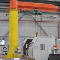 Buy cheap Lifting 5m 16T Shipbuilding Workshop Cantilever Jib Crane from wholesalers