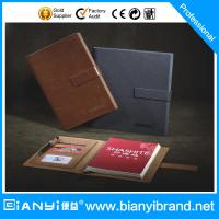 Wholesale Loose leaf leather journal diary notebook/custom raw materials of notebook manufacturer from china suppliers