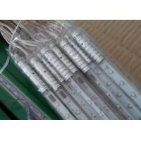 Wholesale Rain Drop LED Meteor Lights EU / UK Plug 100 - 240v 10 Tubes 80cm Multicolor / Red from china suppliers
