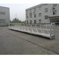 Wholesale Building Cleaning Suspended Working Platform Zlp800 With 800kg Rated Load from china suppliers