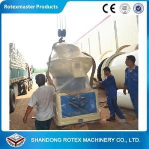 China Biomass Peanut Ground Shell Vertical ring die wood pellet machine on sale