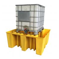 Wholesale Large Capacity Safety Spill Pallet , PE Spill Containments For IBC Tank Storage from china suppliers