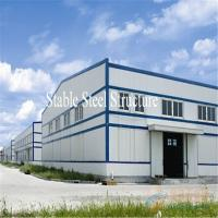 Wholesale Large Span Pre-Engineered Steel Structure Warehouse with Modern Design from china suppliers
