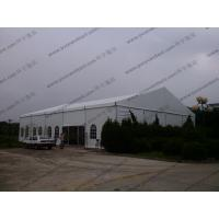 Customized Width Aluminum Frame and PVC White Cear Span Badmintion Tents for Outside Sport Events