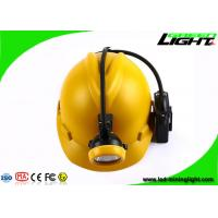 Quality Rechargeable Coal Miner Headlamp Waterproof LED Cap Lamp with Cable USB Charging 10000Lux for sale