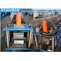 Wholesale 5   6   7   Portable Mobile Round Gutter Roll Forming Machine For Half Round Gutter from china suppliers