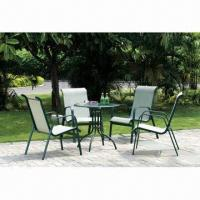 Wholesale Outdoor Aluminum Patio Furniture, Made of Aluminum Frame and Textile Mesh, Durable from china suppliers