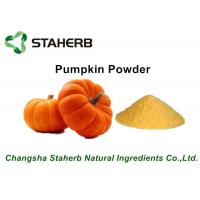 China Yellow Fine Pumpkin Dried Vegetable Powder For Food Beverage / Ice Cream on sale