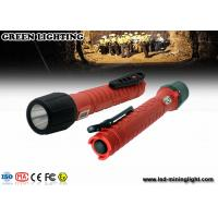 Wholesale 3.7V 6400mah 18650 explosion proof flashlight 20000lux high beam 1300lum from china suppliers