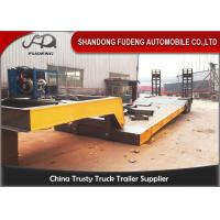 Wholesale Hydraulic 2 / 3 / 4 Axles Detachable Gooseneck Trailer 50-100 Tons Payload from china suppliers