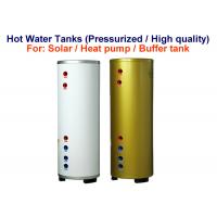 China Stable Solar Hot Water Storage Tank , Reliable Horizontal Hot Water Tank on sale