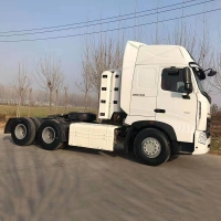 Wholesale ZZ4257N3247B 6x4 380hp 420hp CNG LNG Lorry Tractor Unit from china suppliers