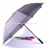 Wholesale oversized Golf Umbrella, 27 Inch Auto Open Close Strong Super Automatic Vented Golf Umbrella , Vented Windproof Umbrella from china suppliers