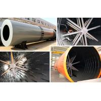 Wholesale 1.9 - 76.0 T / H Cement Rotary Dryer , Rotary Drum Dryer For Coal Mud / Slag from china suppliers