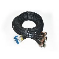 Buy cheap 2 CoreAARC - LC 24 Core LC Male Outdoor Cable Assembly For Surveillance Systems from wholesalers