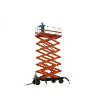 Wholesale Mobile Scissor Steel Warehouse Aerial Working Platforms from china suppliers