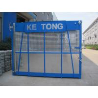Wholesale Blue Construction Hoist Parts Building Lifter Single Elevator Cage 2000kg Load Capacity from china suppliers