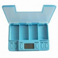 Wholesale Vibrating Pillbox with 5 Alarm Settings from china suppliers