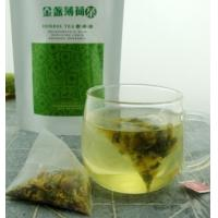 Wholesale natural calendula peppermint leaf flower tea triangle teabag from china suppliers