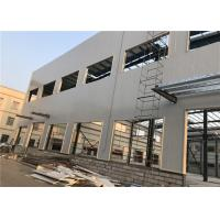 Wholesale Sandwich Panel Large Metal Workshops And Garages , Prefab Shop Buildings from china suppliers