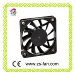 high speed water resistant fan 80*80*10mm dc cooling fan with plastic fan grill