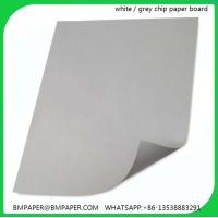China Duplex board grey back / Coated duplex board grey back / Duplex board with grey back on sale