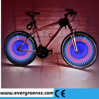 China Colorful 32 kinds Pattern 32LEDS LED Bike Wheel Light on sale