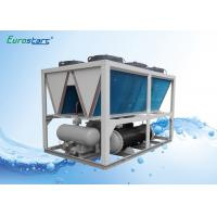 Wholesale Super Fiber Machine Air Cooled Chiller 100 Ton Air Water Chiller Double Screw Compressor from china suppliers