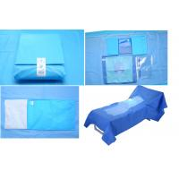 Buy cheap Hospital Use Medical EO Sterile Fenestrated Drape Pack , Hip U Drape from Wholesalers