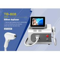 Buy cheap 12*12MM Spot Size Alexandrite 755nm 1064 808nm Diode Laser Hair Removal Machine from wholesalers