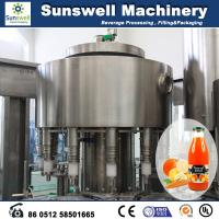 Wholesale Stainless Steel Hot Filling Machine Automatic For Orange Juice from china suppliers