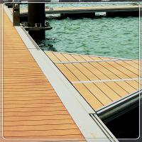 China Private Marinas pontoon boat for sale floating dock on the sea water  Marine Grade Aluminum Floating Pontoon platfrom on sale