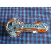 China Art glass smoking pipes ,handblown glass tobacco pipes , DJ-11002 on sale