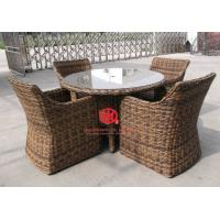China High End Hotel Garden Dining Set Wooden Table And Chairs on sale