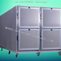 Wholesale 304 SS High-Quality Funeral Mortuary Corpse Refrigerator for Four Bodies from china suppliers