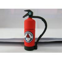 Wholesale Personalised Red 3.0 Plastic USB Flash Drive , Fire Extinguishing Shape from china suppliers