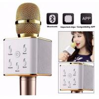 Quality Wireless Bluetooth Microphone for Home KTV Outdoor Party Karaoke with Speaker for sale