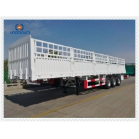 Wholesale Q345 3 Axles 30ton Semi Trailer Tractor For Transportation from china suppliers