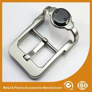 Buy cheap Unique Zinc Alloy Metal Custom Belt Buckle Silver Pin Belt Buckle GLT-12008 from Wholesalers