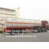 40000L 50000 Liters fuel tank trailer / diesel oil petrol tanker semi trailer