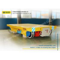 Wholesale 50 T Cable Heavy Industrial Transfer Trolley Solid Electric Bogie For Workshop from china suppliers